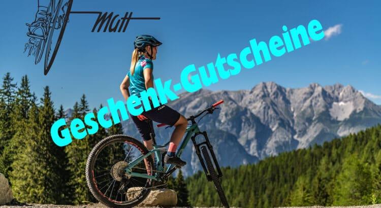 Radsport Matt Geschenkgutschein bestellen